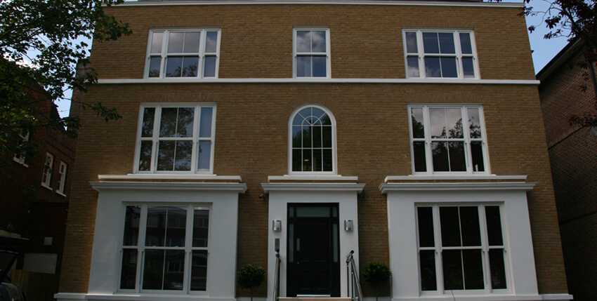 England - Sliding Sash windows